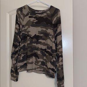 Camo Swearshirt! Like new and very soft